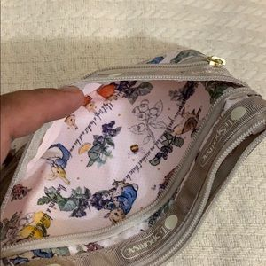 Lesportsac Bags - Lesportsac Peter Rabbit 3-zip cosmetic bag